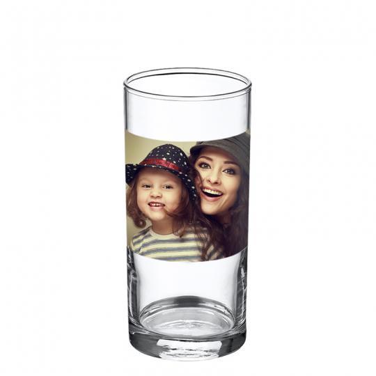Trinkglas klar 0,25 ltr Querformat